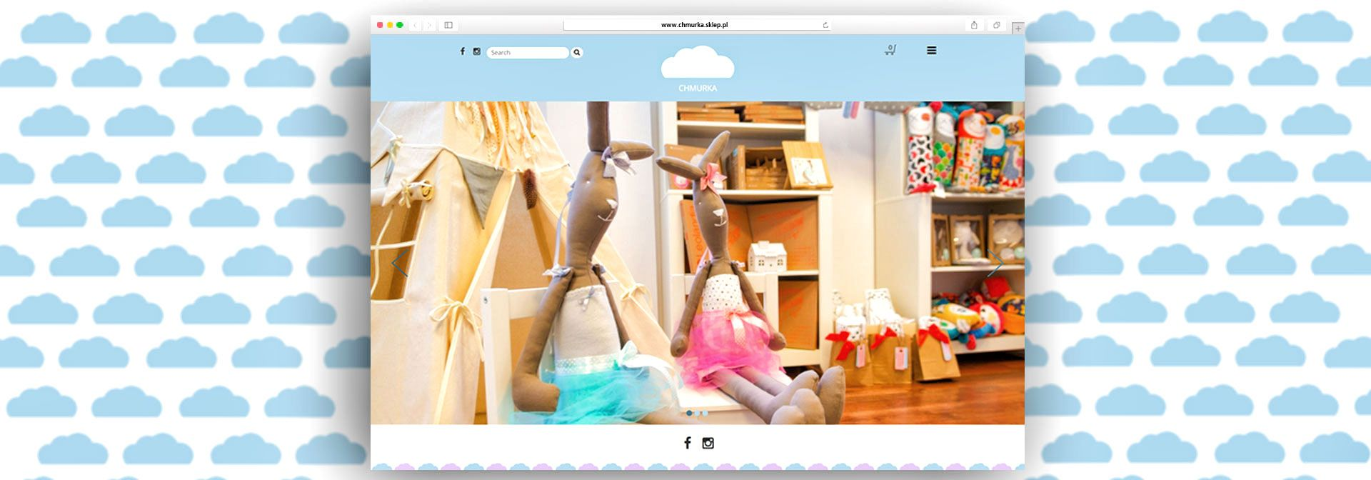 Marui Studio Chmurka Shop Website Development