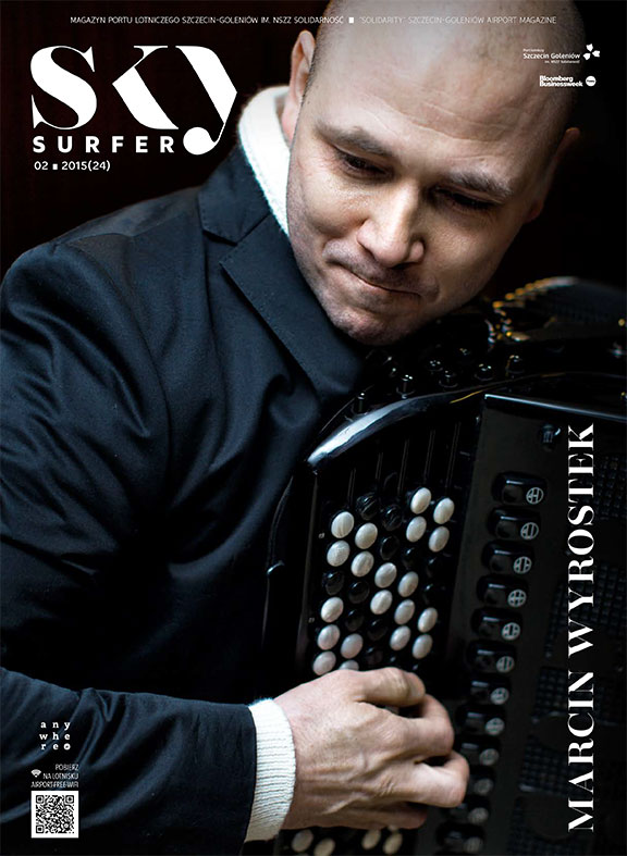 Cover with Marcin Wyrostek for Sky Surfer Magazine and anwyhere.pl portal